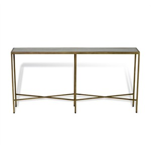 Dorian Shagreen Grand Console Table | Interlude Home