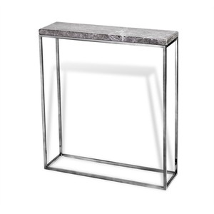 Clovis Console Table in Gray | Interlude Home