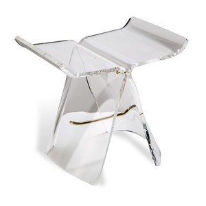 Willa Acrylic Butterfly Stool | Interlude Home