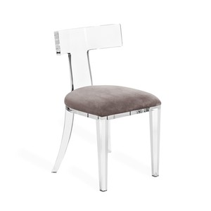 Tristan Acrylic Klismos Chair | Interlude Home