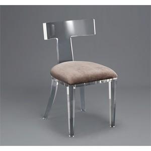 Tristan Acrylic Klismos Chair   Interlude Home
