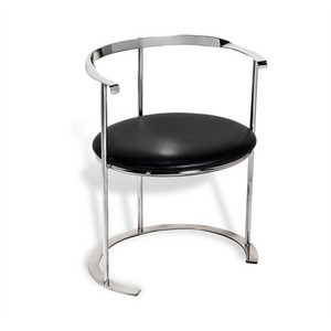 Hayes Dining Chair in Leather | Interlude Home