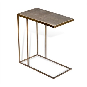 Johannes Hugging Table in Shagreen | Interlude Home