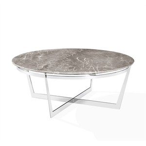 Wyatt Cocktail Table in Italian Gray | Interlude Home