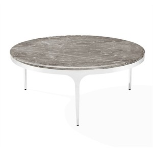 Camilla Cocktail Table in Italian Gray | Interlude Home