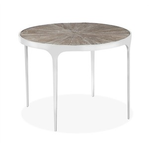 Devin Dining Table in Vintage Gray | Interlude Home