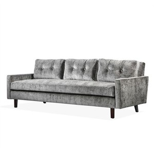 Aventura Two Arm Sofa in Gray | Interlude Home