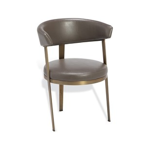 Adele Dining Chair in Gray | Interlude Home