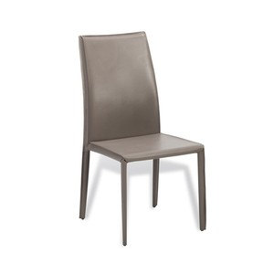 Jada High Back Dining Chair in Taupe   Interlude Home