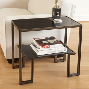 One-Up Table in Bronze | Global Views