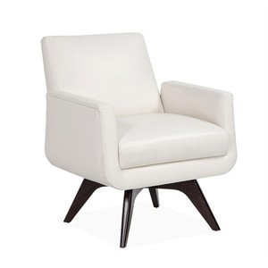 Landon Chair in Cream Leather