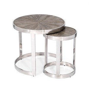 Set of Two Desoto Nesting Tables | Interlude Home