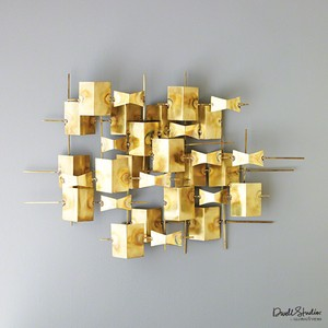 Folded Brass Wall Decor | Global Views