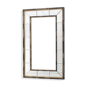 Evelyn Eglomise Mirror   Interlude Home