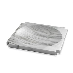Haven Large Marble Candy Dish in Arabescato | Interlude Home