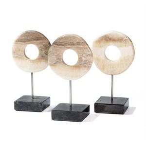 Set of Three Arta Onyx Ring Trio | Interlude Home
