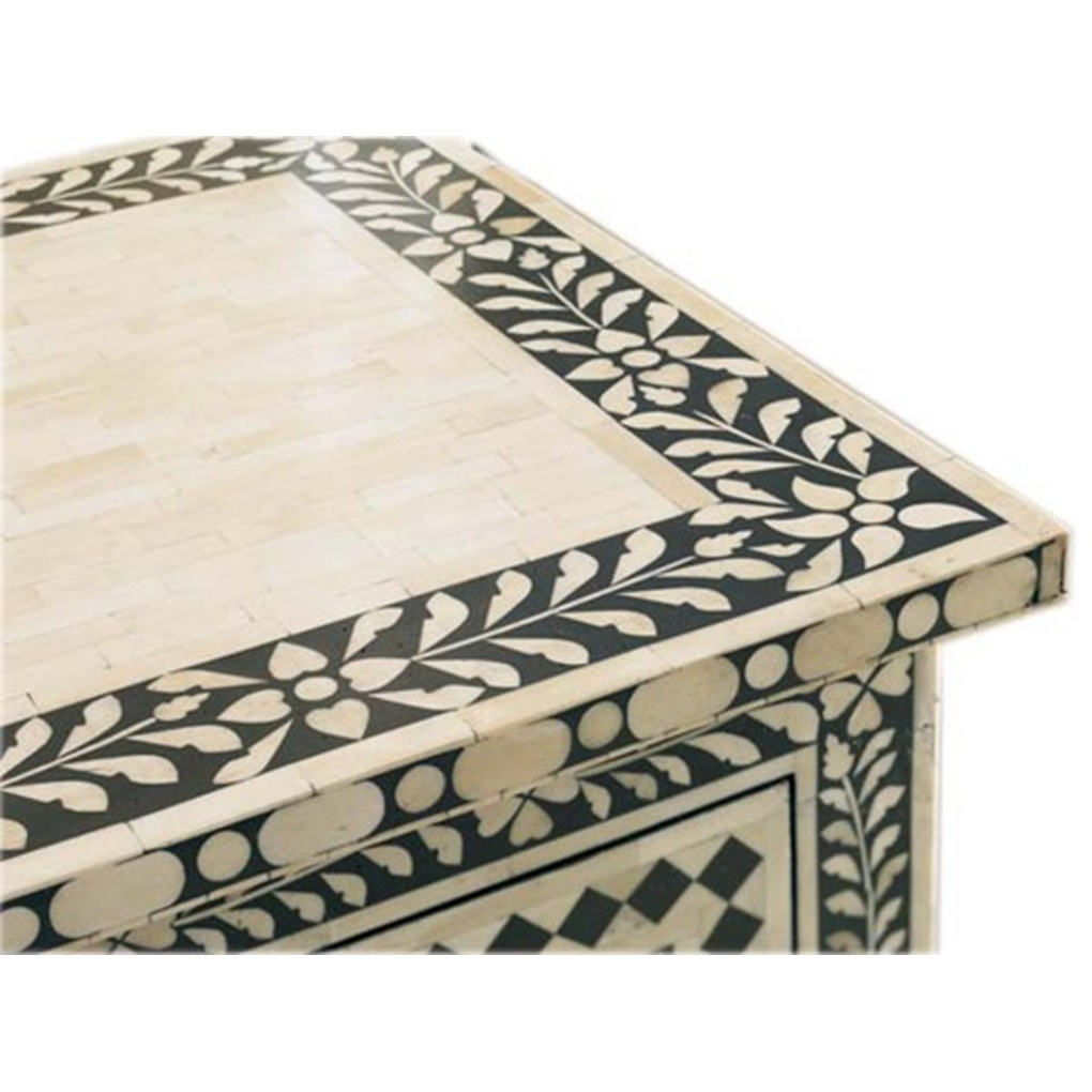 Inlaid Bone Chest | CTH-Sherrill Occasional