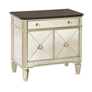 Borghese Granite Top Commode | Bassett Mirror
