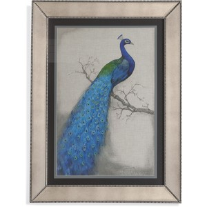 Peacock Blue I | Bassett Mirror