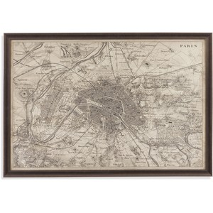 Map of Paris | Bassett Mirror