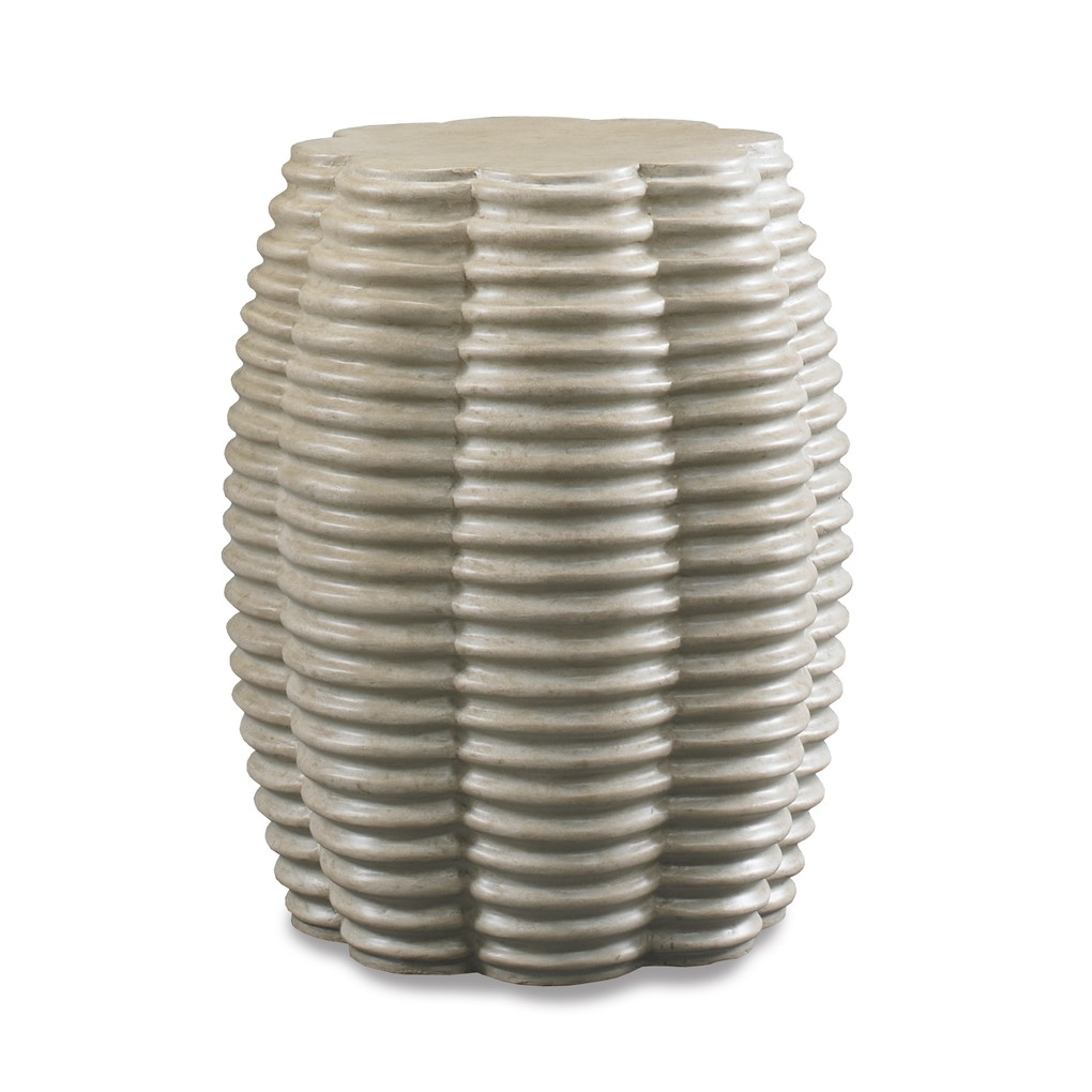Ribbed Drum Table | CTH-Sherrill Occasional