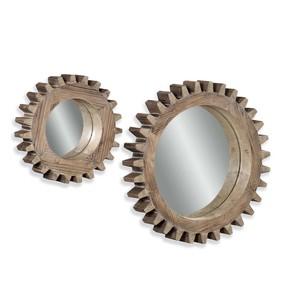 Sprockets 2 Wall Mirrors | Bassett Mirror