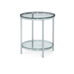 Patinoire Round End Table | Bassett Mirror