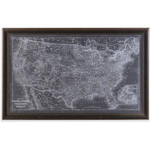 US Map Blueprint