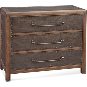 Raylan Metal Hall Chest | Bassett Mirror