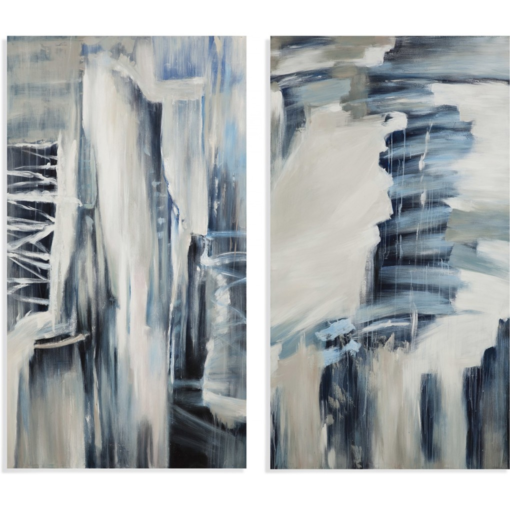 Blue Theory Art | Bassett Mirror