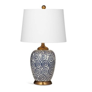 Lawton Table Lamp | Bassett Mirror