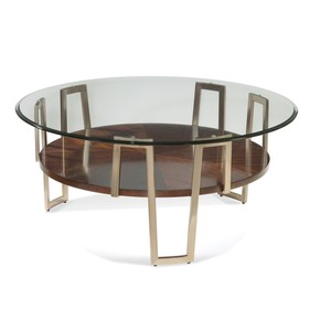 Cornell Round Cocktail Table | Bassett Mirror