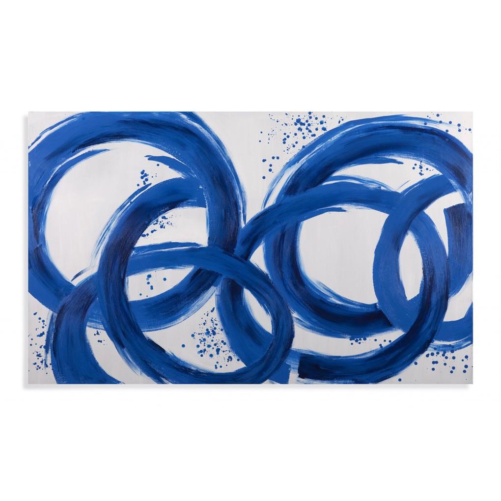 Blue Loops | Bassett Mirror