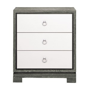 Berkeley Three Drawer Side Table