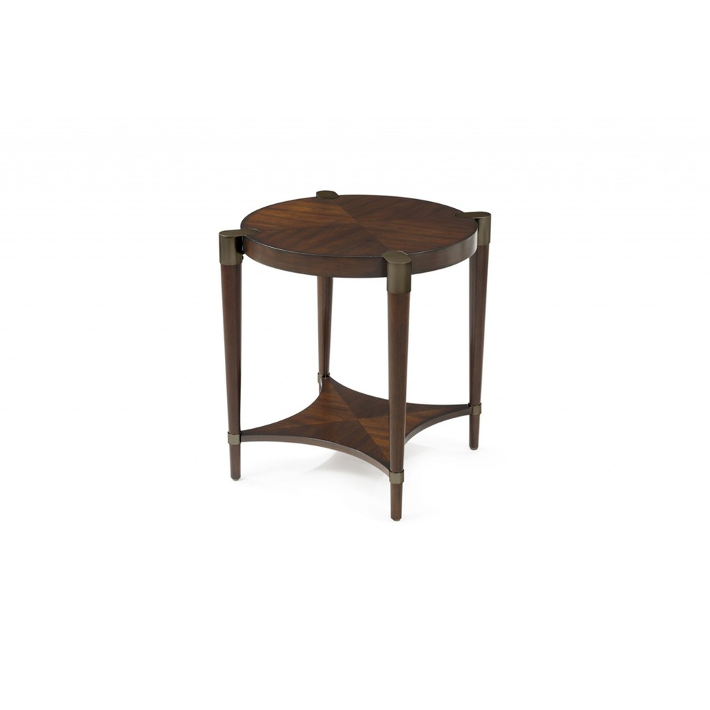 Cole Round End Table | Bassett Mirror