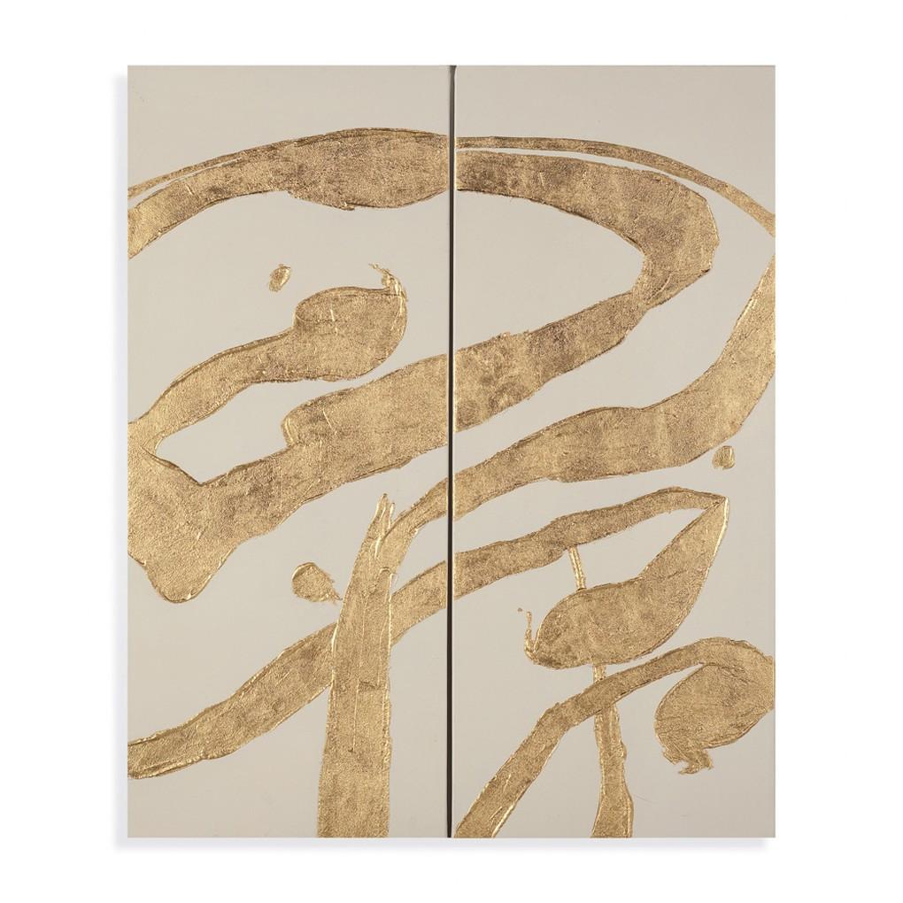 Gold Splashes | Bassett Mirror