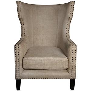 Berne Single Chair | Noir