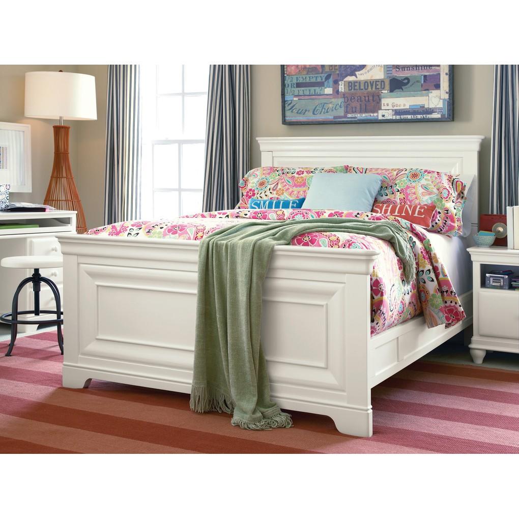 Classics 4.0 Summer White Panel Bed | Universal Smart Stuff