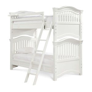 Classics 4.0 Summer White Slat Bunk Bed | Universal Smart Stuff