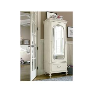 Gabriella Mirror Front Storage Armoire | Universal Smart Stuff