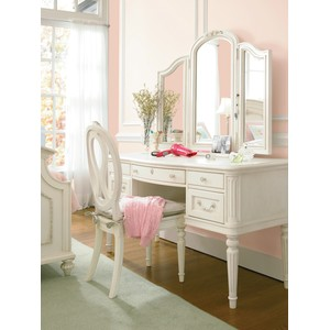 Gabriella Vanity with Dressing Mirror and Chair | Universal Smart Stuff