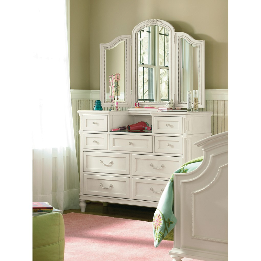 Gabriella Dressing Chest with Dressing Mirror | Universal Smart Stuff