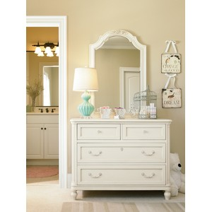 Gabriella Single Dresser with Vertical Mirror