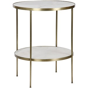 Rivoli Side Table | Noir