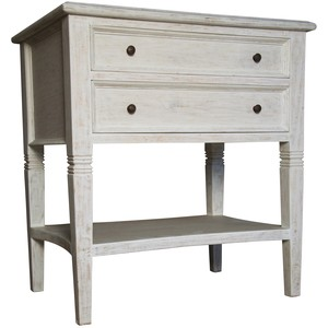 Oxford Two Drawer Side Table