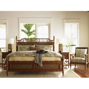 West Indies Bed in King | Tommy Bahama Home