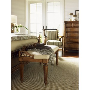 Plantain Bed Bench | Tommy Bahama Home
