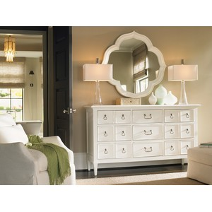 Ivory Key Dresser and Mirror | Tommy Bahama Home