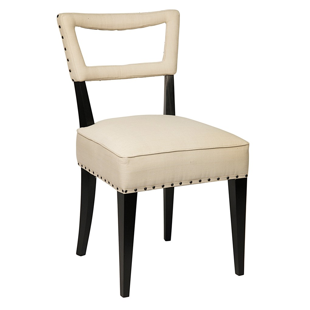 Argento Dining Chair | Noir