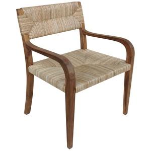 Bowie Arm Dining Chair   Noir